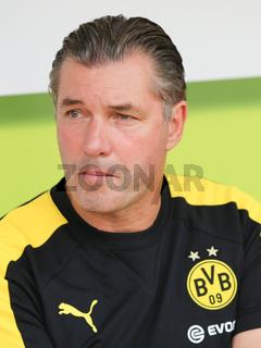 Sportdirektor Michael Zorc (Borussia Dortmund, Saison 2016-17) Testspiel gegen Hallescher FC 23.8.16