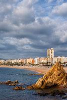 Lloret de Mar Town in Spain