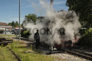 Öchsle Bahn, Mallet Dampflokomotive 99633