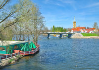 in Mikolajki oder Nikolaiken am Spirdingsee,Masuren,Polen