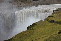 Dettifoss, waterfall in the Vatnajoekull national park, Iceland.