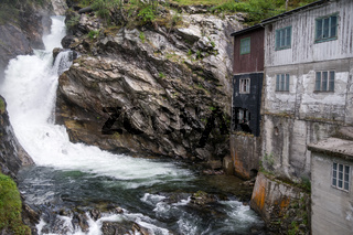 Mühlengebäude im Gudbrandsdal, Norwegen