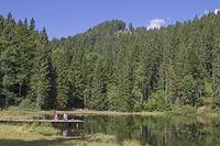 Bichler See im Mangfallgebirge