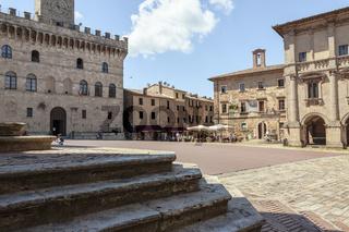 Montepulciano, Gebäude der Renaissance, Toskana, Italien