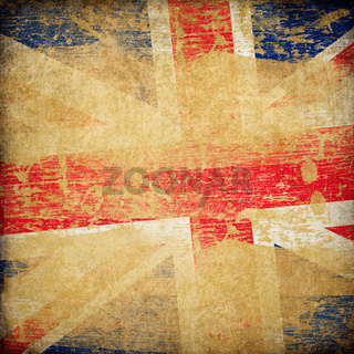 England grunge flag background.