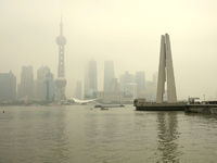 Skyline, Huangpu River, Shanghai, China, Asien