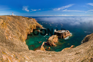 Fort in Berlenga island - Portugal