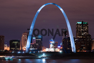 Gateway to the West St. Louis Arch Missouri Monument