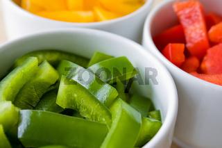 Grüner Paprika - Green Pepper