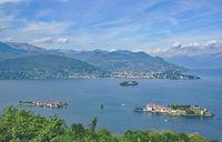 Lago Maggiore und die Borromaeischen Inseln,Piemont,Italien