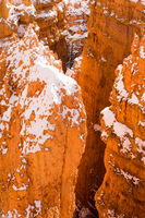 Deep Crevass Bryce Canyon National Park Rock Spires