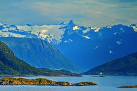 Mountains Viewed From Sommaroy Island, Tromso  Norway