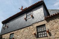 Typical facade an old house