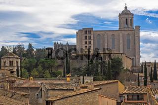 Kathedrale Santa Maria von Girona, Spanien