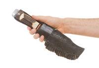 Criminality - Sharp bowie knife