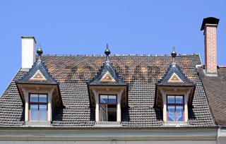Haus zum roten Korb anno 1384 , Markstätte Konstanz