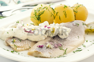 Herring with Potato