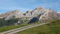 Mountain landscape near Gstaad