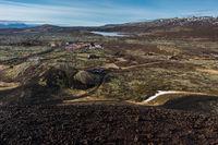 Krater Grabrok Island