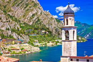 Limone sul Garda waterfront view