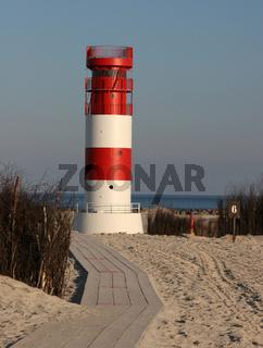 Leuchtturm am Düne-Südstrand (Helgoland)