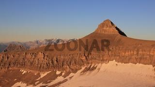 Mt Oldenhorn in golden evening light