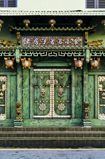 chinese heritage architecture in penang old town malaysia