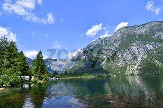 Bohinjsko jezero ( Wocheiner See )