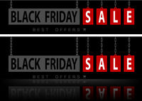 Website Banners Black Friday