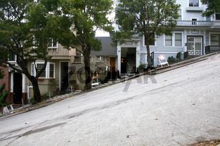USA, San Francisco, Lombard Street