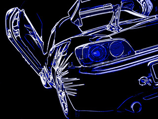 Flügeltür Auto