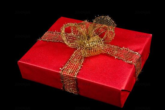 Foto Geschenk Paket In Rot Bild 1860949