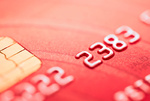 credit card red