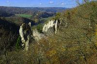 Naturpark Obere Donau;  Burgruine Neugutenstein,