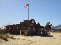 Postgebäude in Pioneertown, Twentynine Palms, CA,