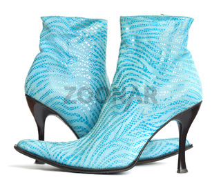womanish shoes isolated on white background