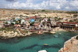 Malta, Popeye Village, Sweethaven Village