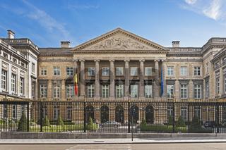 Palast der Nation, Brüssel |  Palace of the Nation, Brussels