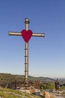 Gipfelkreuz in den Monti Lessinis