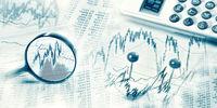 Finanzmarkt mit Lupe und Taschenrechner