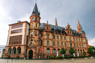New Town Hall in Wiesbaden, Hesse, Germany