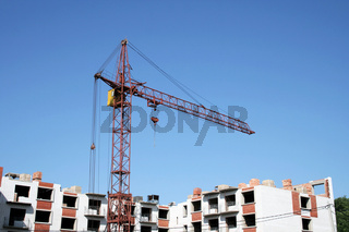 Construction. Lifting crane