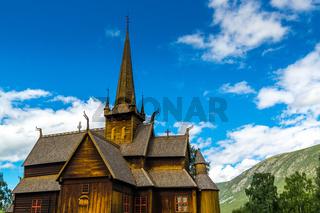 Stabkirche in Lom-10