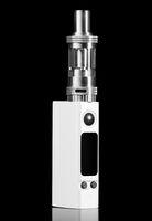 white electronic cigarette
