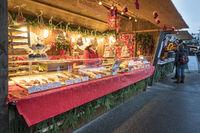 Romantischer Weihnachtsmarkt in Bad Wörishofen in Bayern