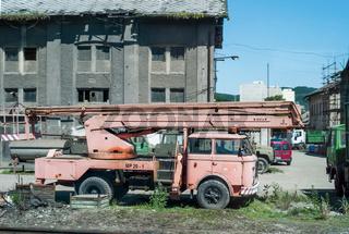 Alter Skoda-LKW in Tschechien