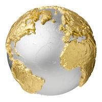 Gold Atlantic Ocean