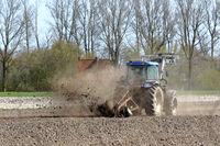 Fräsarbeiten zur Entwässerung