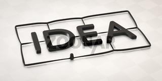 plastic injection molding word idea