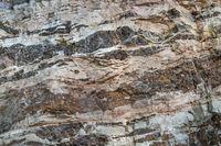 Struktur einer Felswand